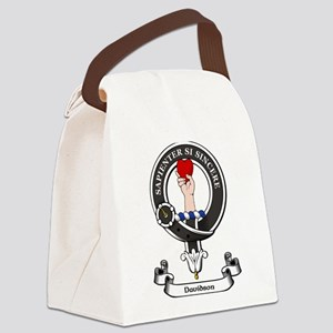Badge-Davidson [Inverness] Canvas Lunch Bag